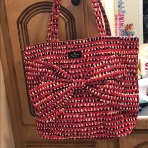Kate Spade Tote with large bow design.